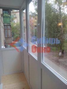 Вид из ростового балкон Омск фото