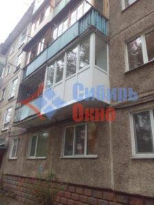 Ростовой балкон в Омске фото