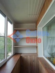 Полки на балконе фото