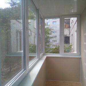 Пример остекления балкона фото