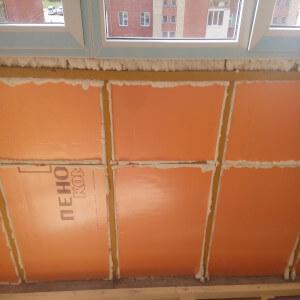 Пример утепления балкона фото