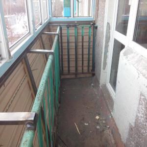 Пример балкона с выносом фото