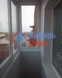 Отделка балкона вагонкой ПВХ фото