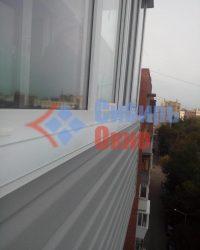Балкон отделанный сайдингом фото