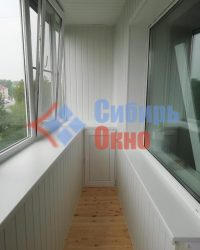 Тумба ПВХ на балконе фото