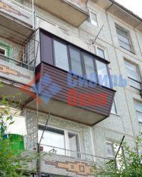 Балкон с выносом фото