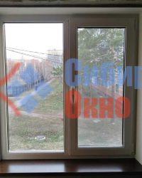 Пластиковое окно в панельном доме в Омске от Сибирь Окно